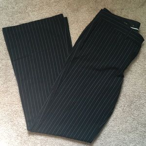 Pinstrip pants